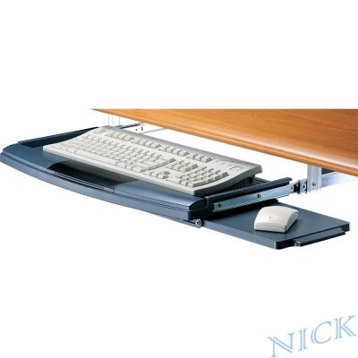 【NICK】超大型塑鋼鍵盤架(一滑鼠版/二色)