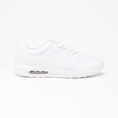 【美國 AIRWALK】透氣輕量設計慢跑鞋運動鞋-男(亮點白)