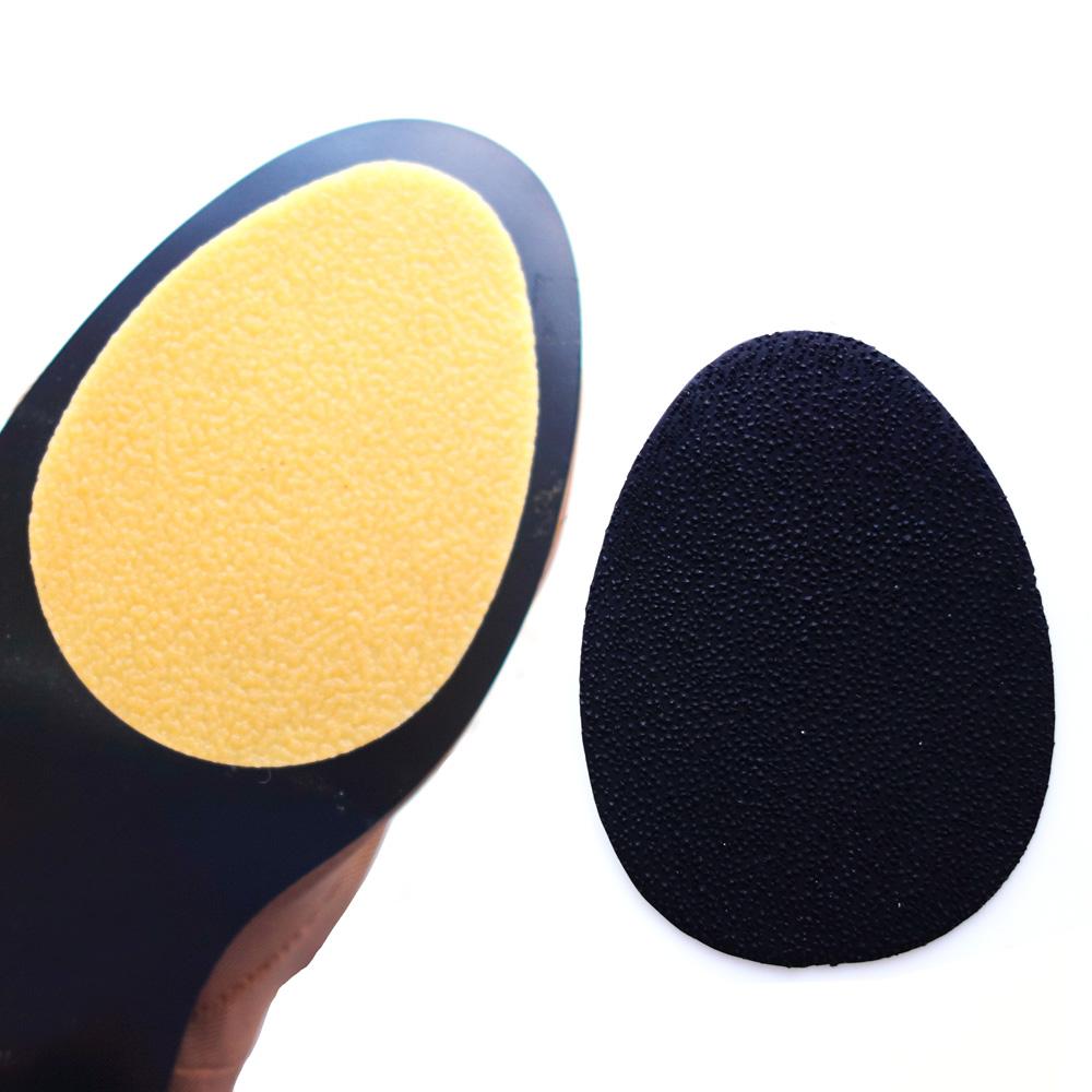 足的美形  橡膠鞋底防滑貼(棕5雙+黑5雙)