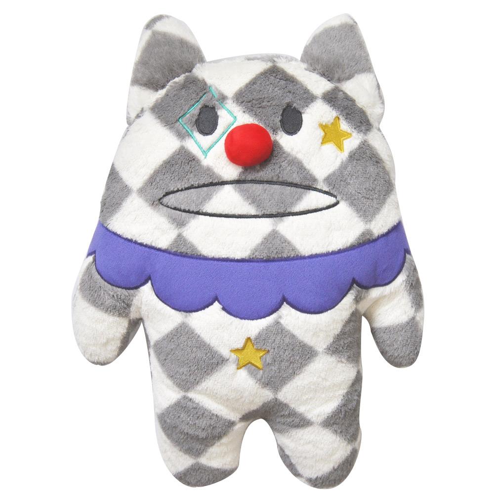 CRAFTHOLIC宇宙人馬戲團彩帶貓寶貝枕