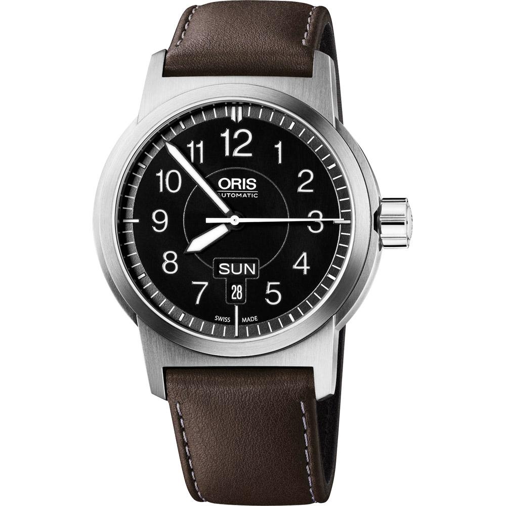 Oris BC3系列 Advanced 飛行機械腕錶-黑/42mm