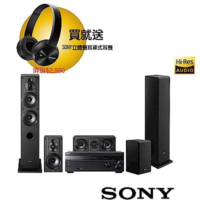 SONY 家庭劇院組 (STR-DH770+SS-CS系列揚聲器)