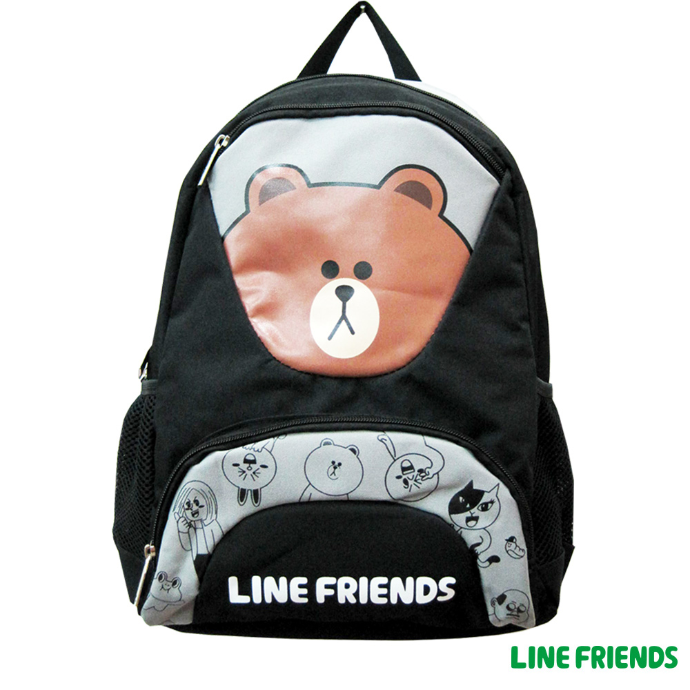 【LINE FRIENDS】雙層後背書包(熊大)