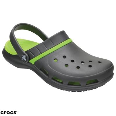 Crocs 卡駱馳 (中性鞋) 動力魔笛平底鞋 204143-0A1