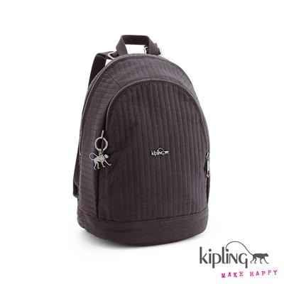 Kipling-後背包-工藝紫素面