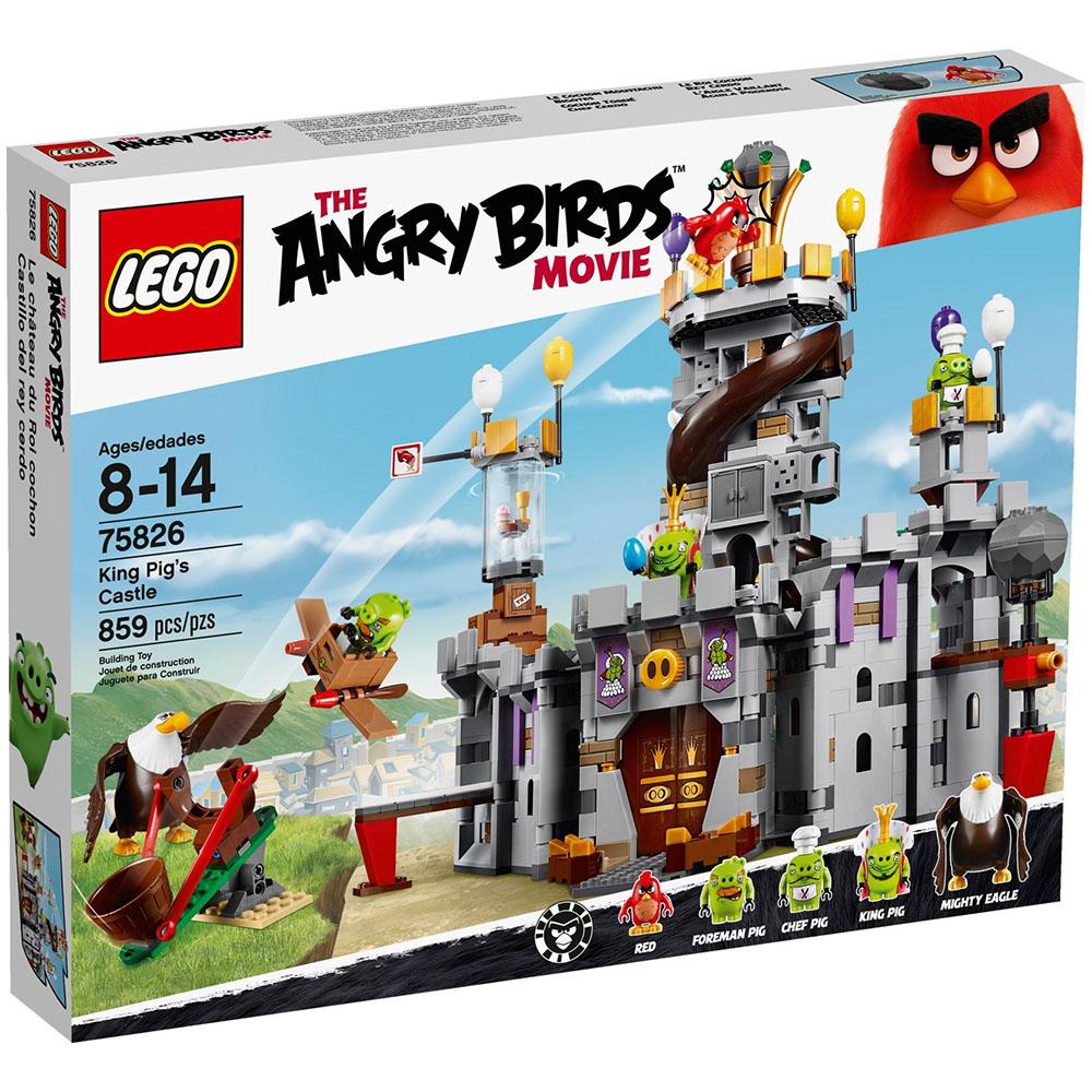 LEGO樂高 憤怒鳥玩電影系列 75826 豬豬王城堡