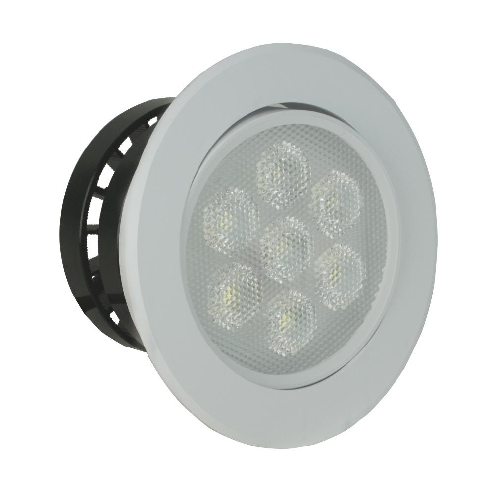 台光 LED 10W 9.5公分崁燈-黃/白(GL10W09H)-2入