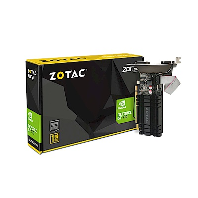 ZOTAC 索泰 GeForce® GT 710 1GB 顯示卡