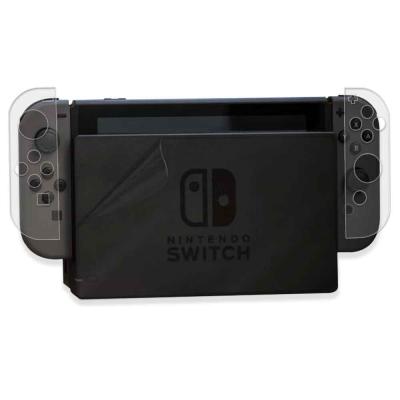 任天堂 Nintendo Switch 主機 左右手把保護膜(贈底座正面保護貼)