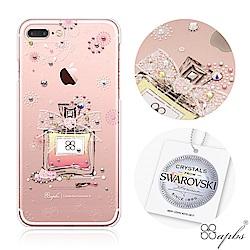 apbs iPhone8/7 Plus 5.5吋施華洛世奇彩鑽手機殼-維也納馨香