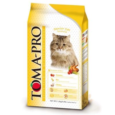 TOMA-PRO優格 高齡貓 雞肉+米3kg