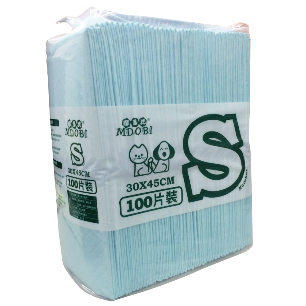 MDOBI摩多比-業務用專業級寵物用尿布 S號-30x45-100枚