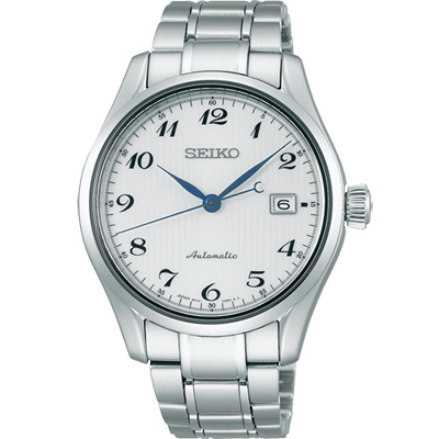 SEIKO 精工 Presage 6R15領導者機械腕錶(SPB035J1)-銀/40mm