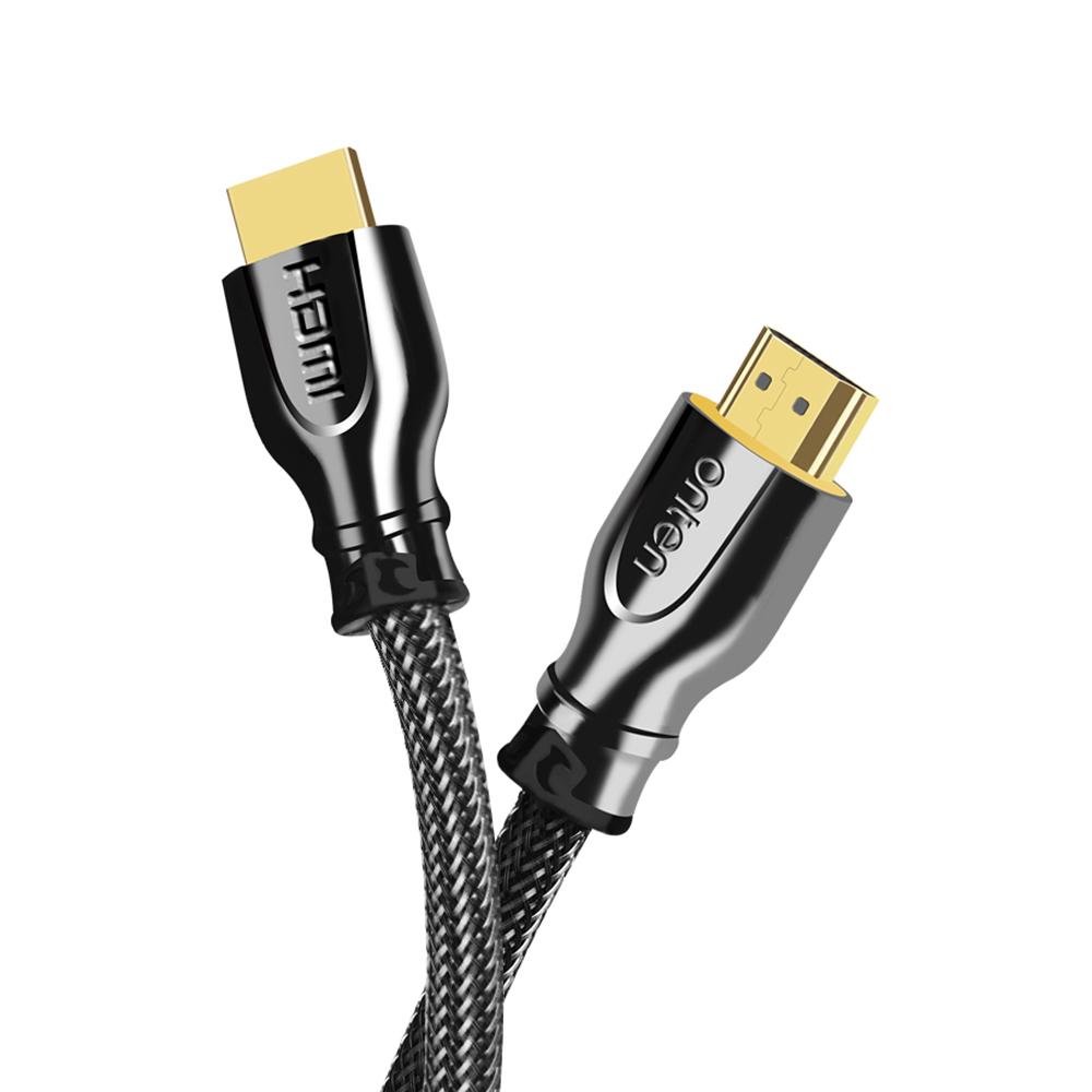 ONTEN歐騰HDMI 2.0 4K專用鍍金編織線(OTN-8307)-3米