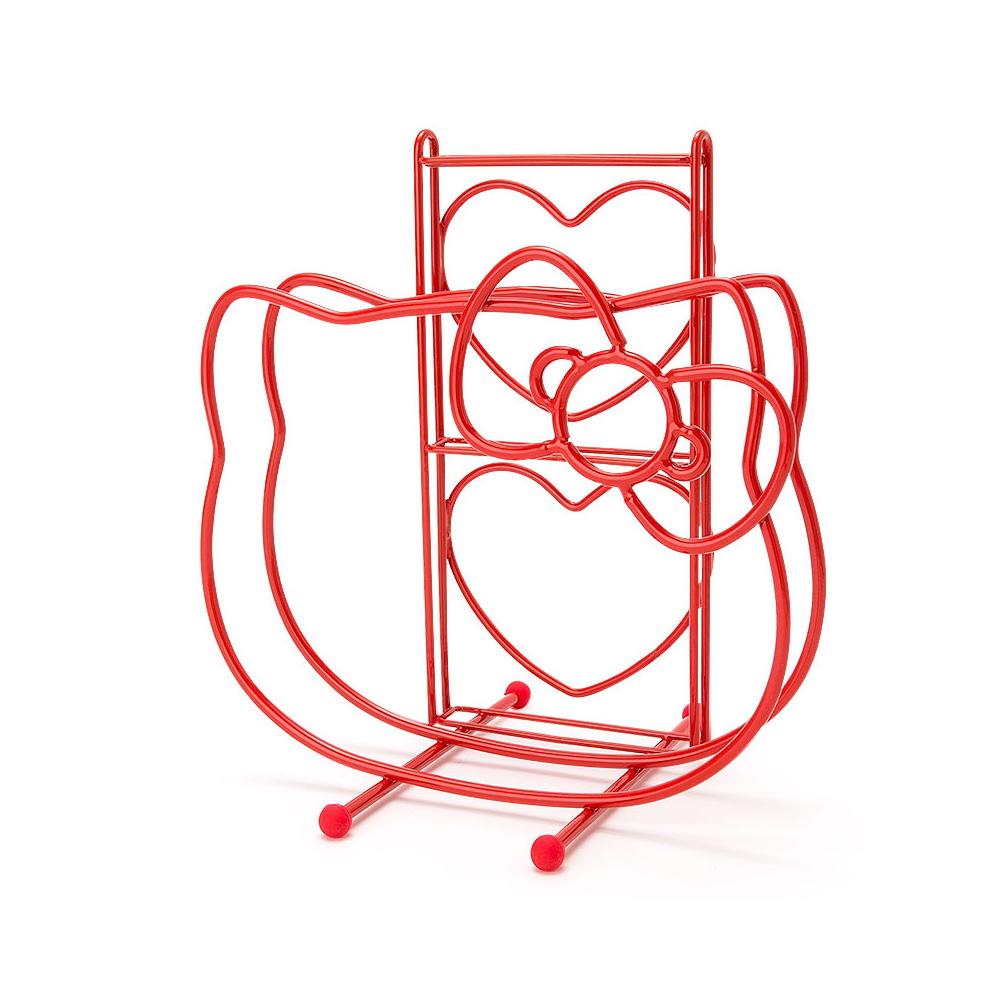 Sanrio HELLO KITTY愛心新生活系列砧板菜刀收納架