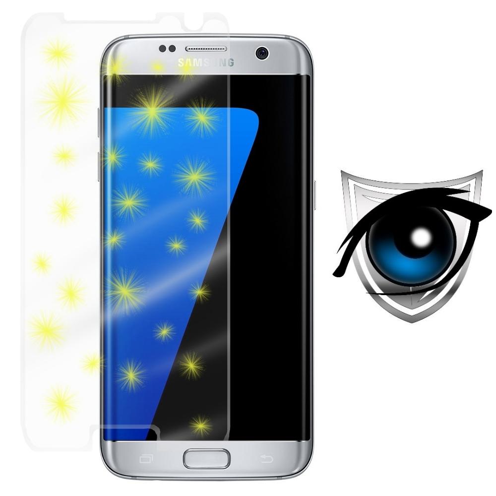D&A 三星 Galaxy S7 Edge (5.5 吋)日本9H藍光超潑水增豔螢幕貼