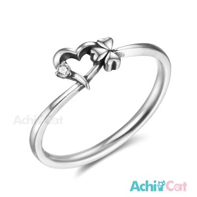 AchiCat 925純銀戒指尾戒 幸福來臨