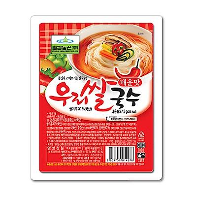 韓味不二 七甲米麵線禮盒-辣味(82.5g)