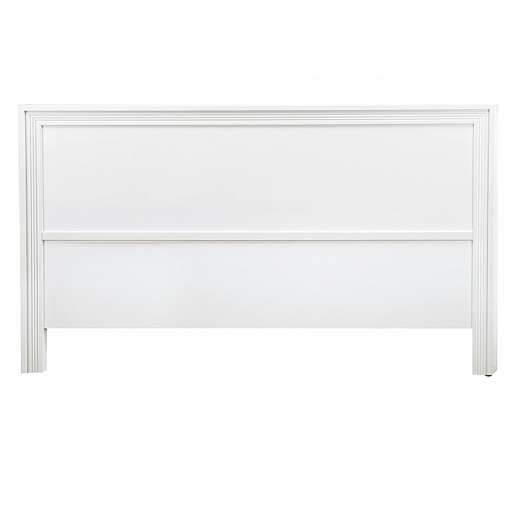AS-奧斯卡5尺白色床頭片-154x5x93cm