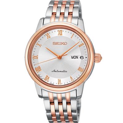 SEIKO Presage 羅馬仕女機械腕錶(SRP882J1)-34mm