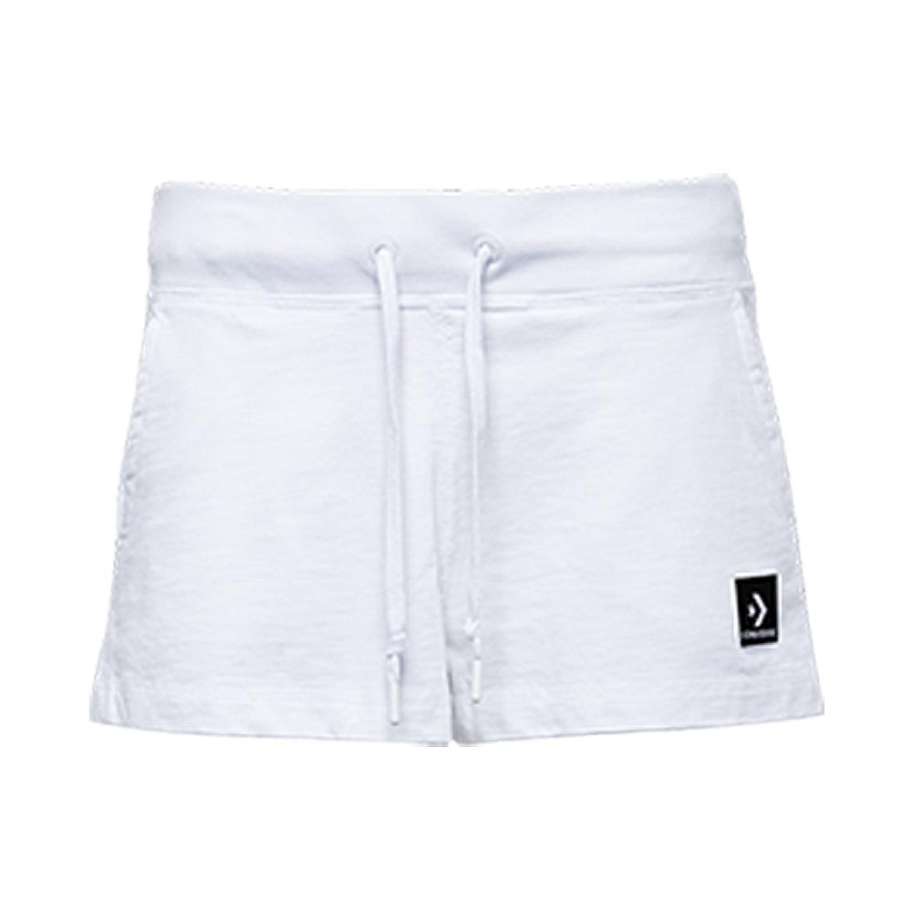 CONVERSE-女休閒短褲10005763-A02-白