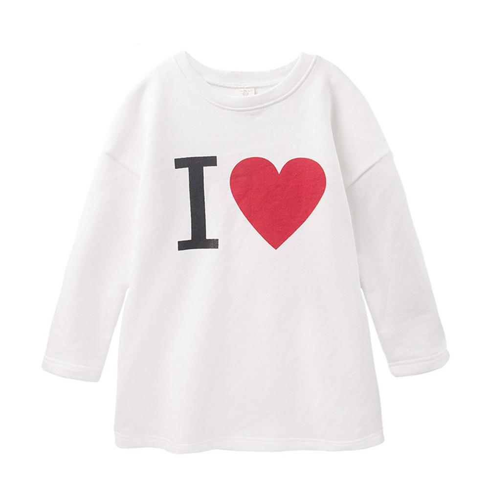 baby童衣 簡約素色印字長版T恤 47097