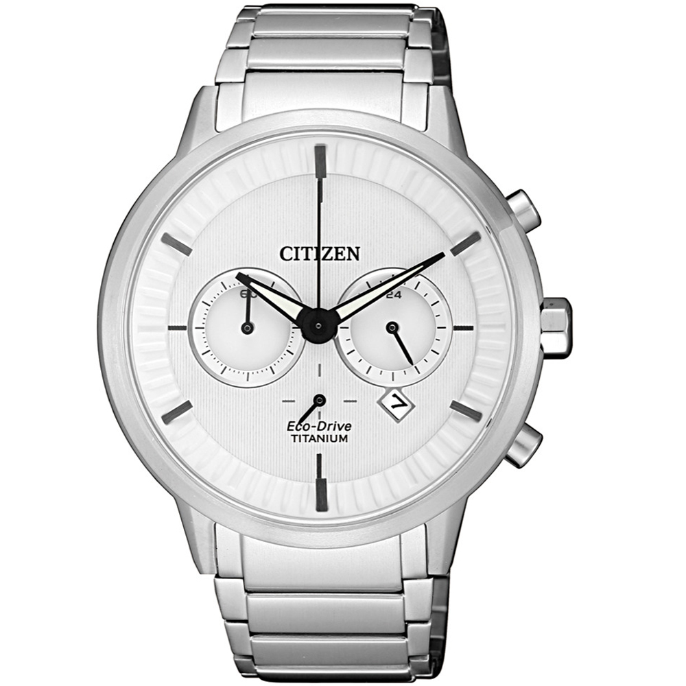 CITIZEN星辰關鍵時機Eco-Drive鈦金屬腕錶(CA4400-88A)