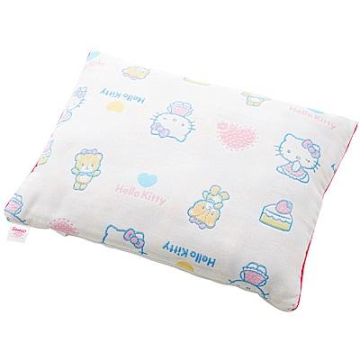 HELLO KITTY 凱蒂貓六層紗童枕