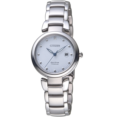 星辰CITIZEN Ladies花漾時尚優雅腕錶(EW2500-88A)-29mm