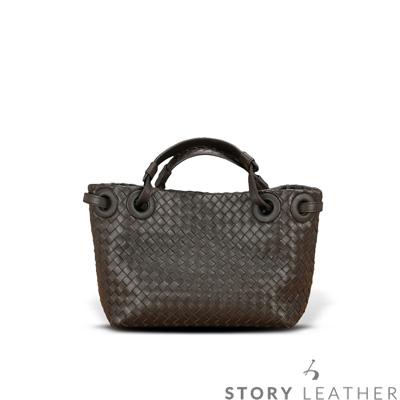 STORY 皮套王 - 羊皮編織手提包 Style 6730 訂做賣場