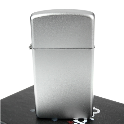 ZIPPO美系~Satin Chrome緞面鍍鉻~銀色霧面打火機