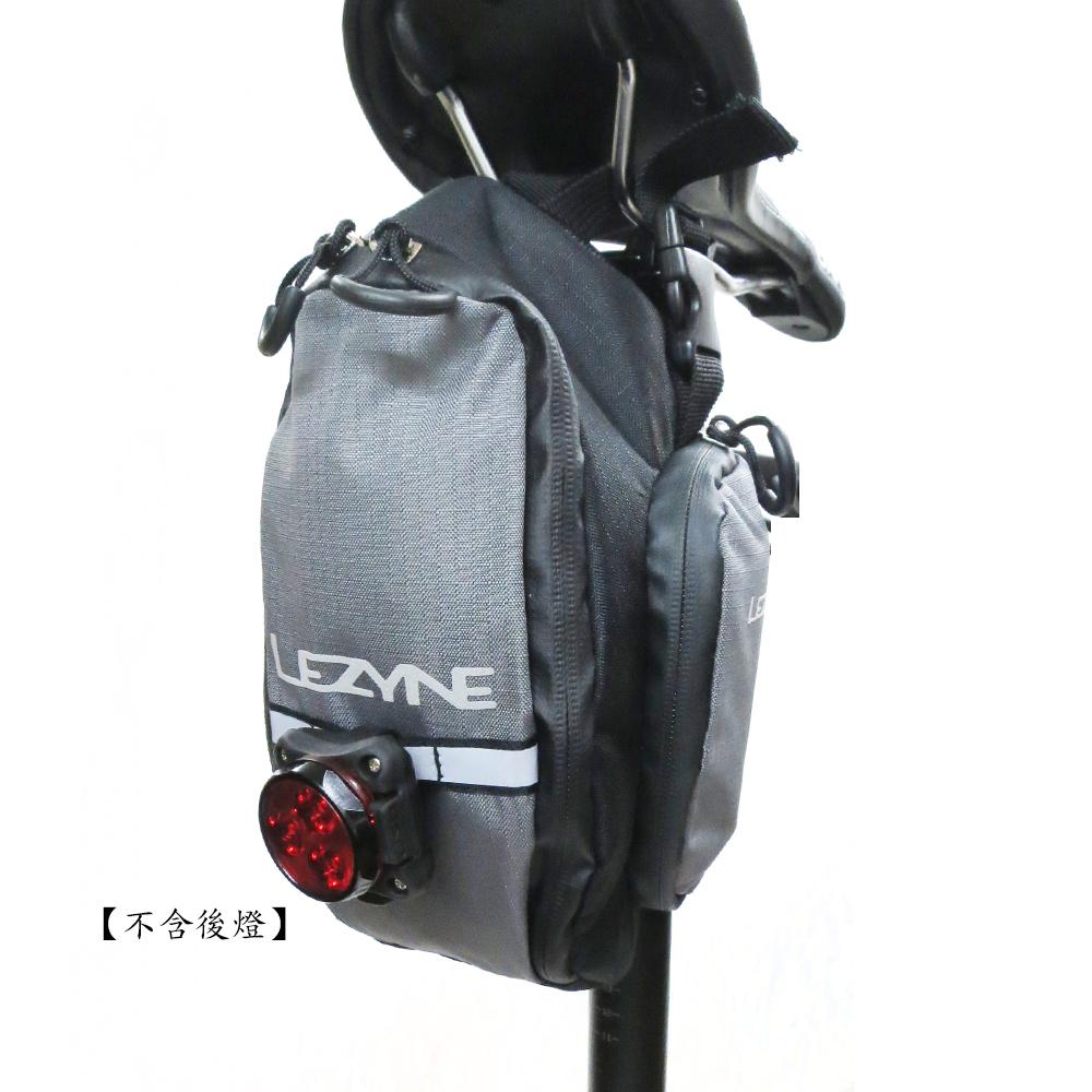 【LEZYNE】 XL-CADDY多功能工具收納單車座墊包-灰