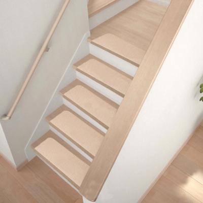 樓梯專用 狠吸水自黏減音地墊(70X20.5X4X0.3cmX3片)