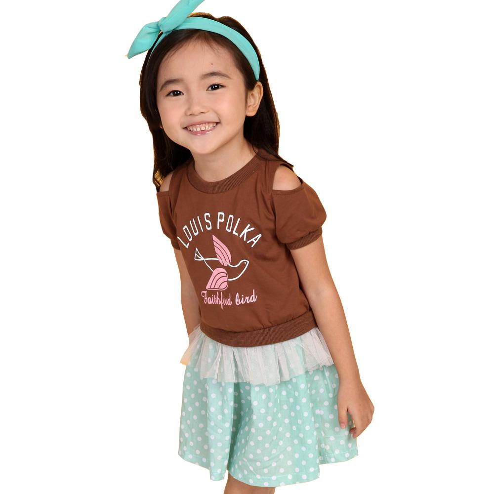 魔法Baby 韓版女童洋裝連身裙 k34318