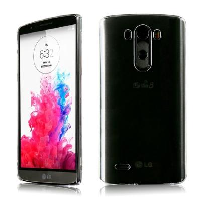 透明殼專家 LG G3 超薄.抗刮.高透光保護殼+保貼組