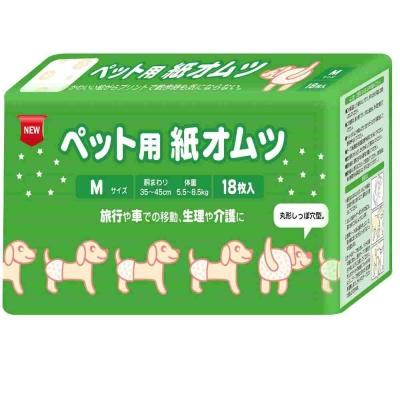 日本inuneru 寵物尿褲免洗M號 1入