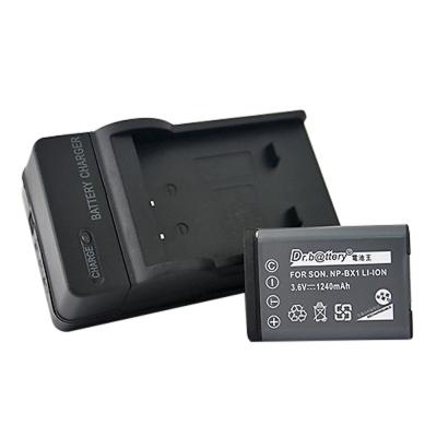 電池王 For SONY NP-BX1 高容量鋰電池+充電器組
