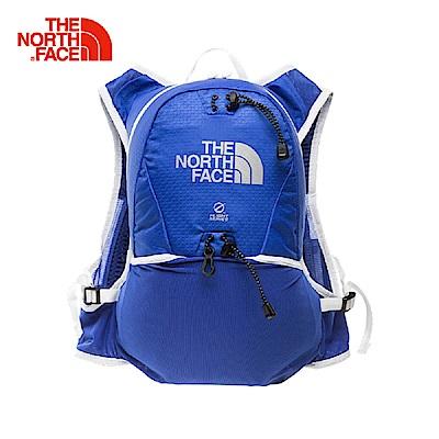 The North Face北面藍色輕便運動背包
