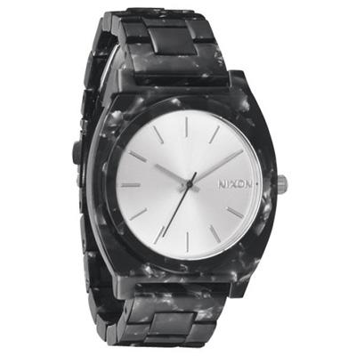 NIXON 絕代風華時尚玻麗腕錶(黑)- 40 mm