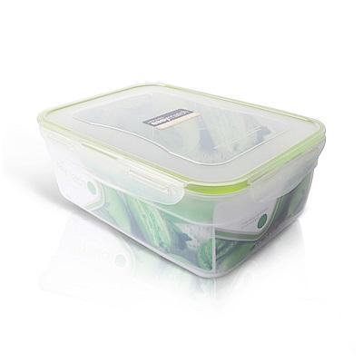 樂扣樂扣PP保鮮盒 EASY MATCH 3L/綠色 (8H)