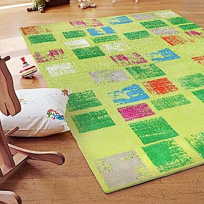ESPRIT-Zara草綠情境短毛地毯-160x225cm