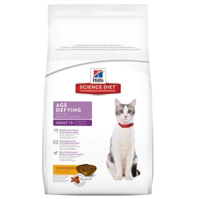 希爾思 11+熟齡貓抗齡配方 7磅【1463】