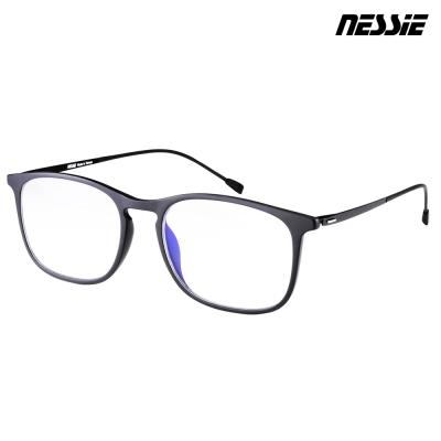 【Nessie尼斯眼鏡】抗藍光眼鏡-羽量系列-雋永黑