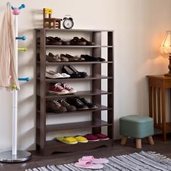 TZUMii 加藤開放式七層鞋櫃-75* 23.8*119.9cm