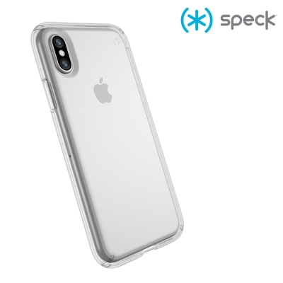 Speck Presidio Clear iPhone X 纖薄透明防摔保護殼