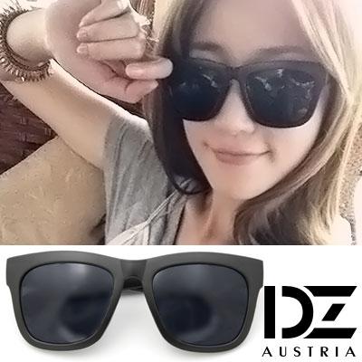 DZ-摩登風潮-抗UV-偏光-太陽眼鏡墨鏡-酷黑