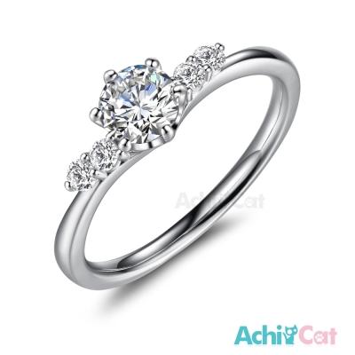 AchiCat 925純銀戒指 幸福花嫁