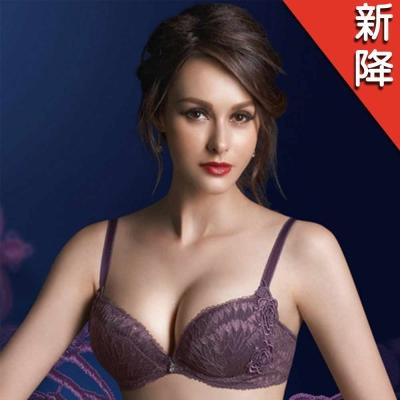 華歌爾-伊珊露絲360°華麗B-C罩杯內衣(紫玫瑰)