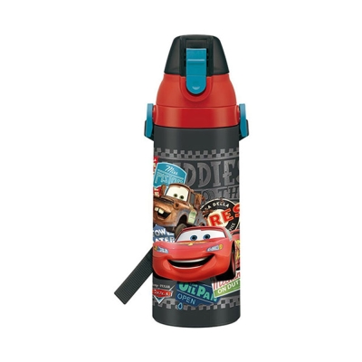 SKATER-迪士尼CARS不鏽鋼保冷直飲水壺-紋