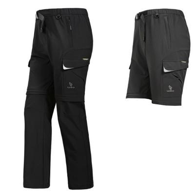 PUSH-機能面料褲防紫外線速乾透氣耐磨可拆兩截褲